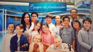 Equipo del CEIP El Olmo News.