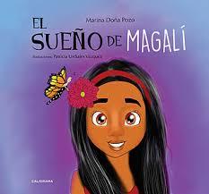 Portada de su libro, El sueño de Magalí.